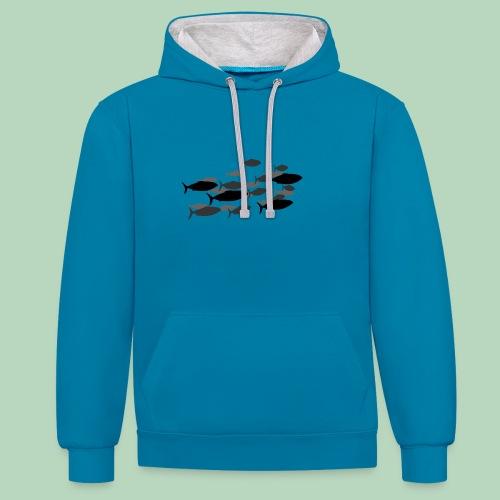 Vis Fish - Contrast hoodie