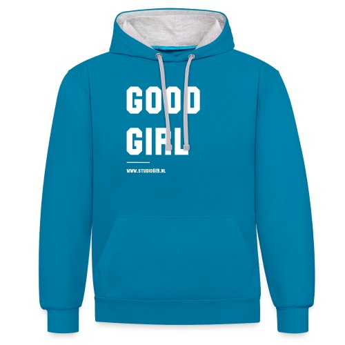 TANK TOP GOOD GIRL - Contrast hoodie