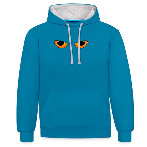 Cateyes - Contrast Colour Hoodie