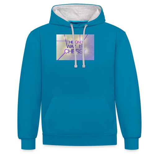 Only Chessy - Contrast Colour Hoodie