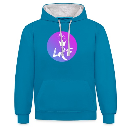 LRF rond - Sweat-shirt contraste