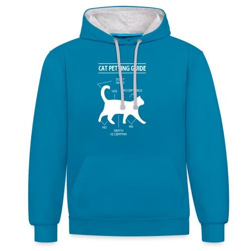 CAT GUIDE - Sweat-shirt contraste