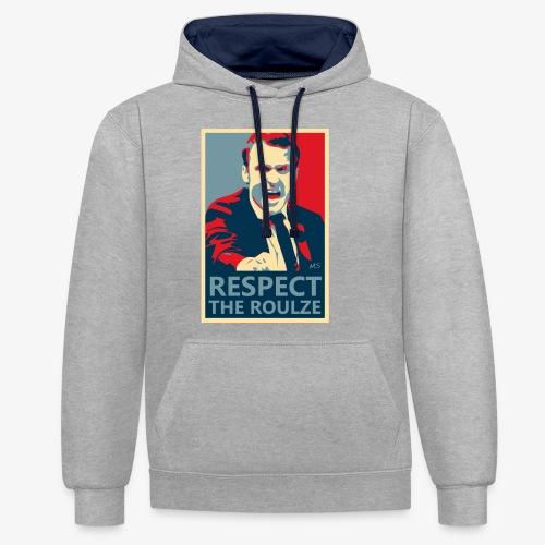 Respect The Roulze ! - Sweat-shirt contraste