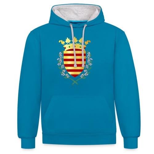 Wapenschild Borgloon - Contrast hoodie