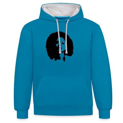 avenuelady - Contrast hoodie