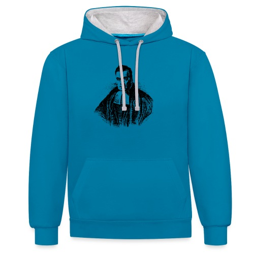 Women's Bayes - Contrast Colour Hoodie