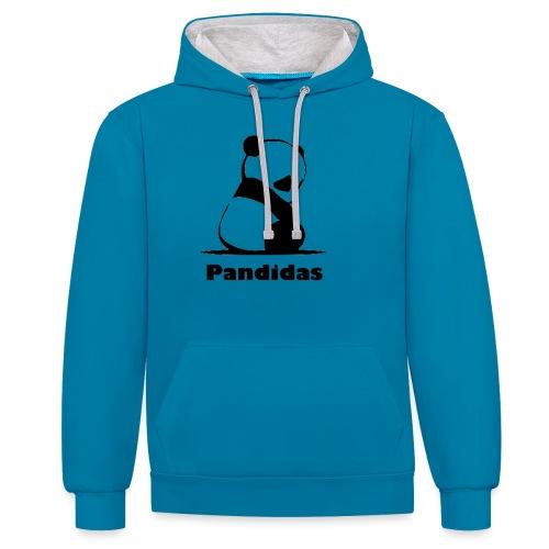 Pandidas - Contrast Colour Hoodie