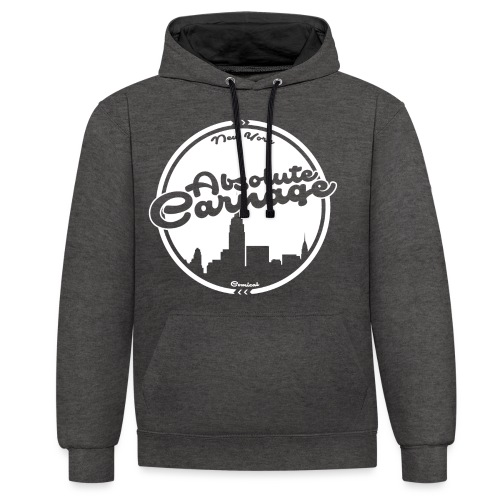 Absolute Carnage - White - Contrast Colour Hoodie