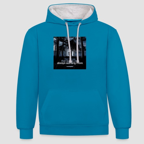The House - Contrast Colour Hoodie