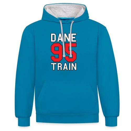Dane Train #95 - Kontrast-Hoodie