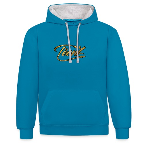 logo The TeenZ - Contrast hoodie