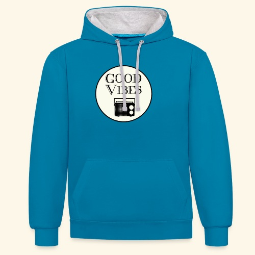 Vibes is music - Sweat-shirt contraste