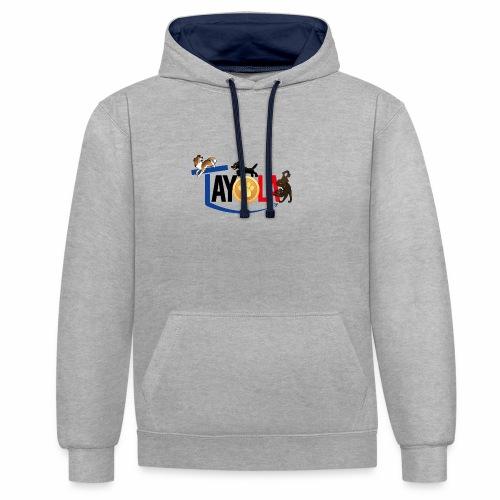 TAYOLA logo 2019 HD - Sweat-shirt contraste