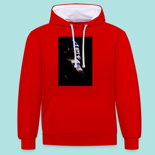 Respect - Contrast Colour Hoodie