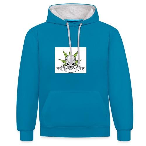 wietschedel - Contrast hoodie
