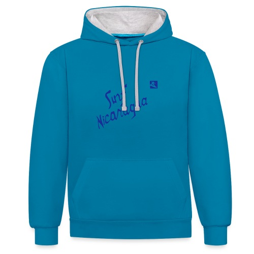 Surf Nicaragua Val Kilmer Chris Knight - Contrast Colour Hoodie