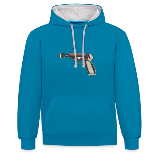 SpaceGun - Contrast Colour Hoodie
