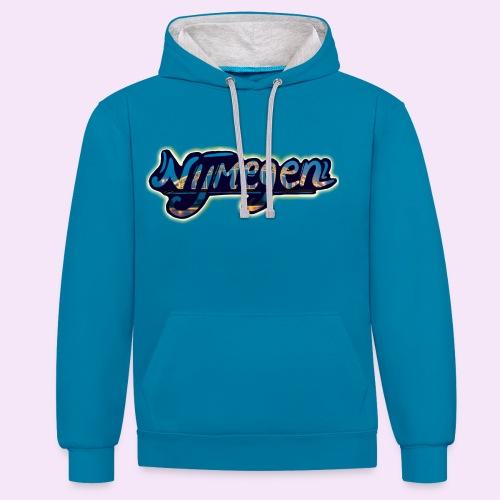 Nijmegen brug - Contrast hoodie