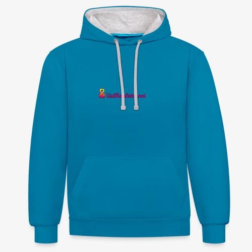 UrlRoulette Logo - Contrast Colour Hoodie
