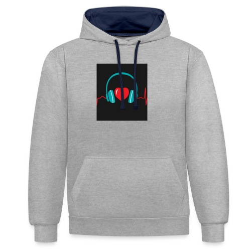 Victoria Sowinska - Contrast Colour Hoodie