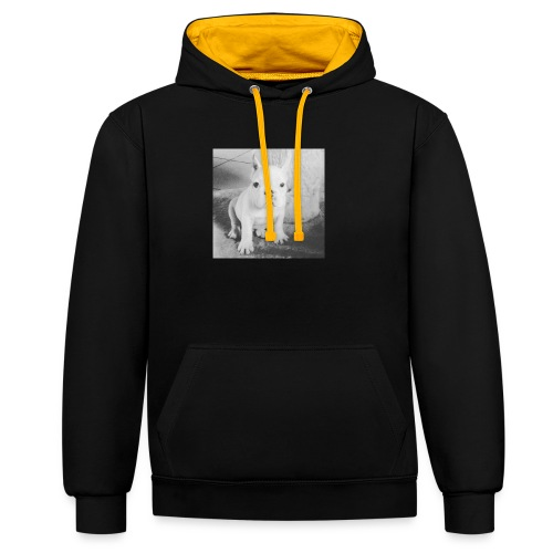 Billy Puppy - Contrast hoodie