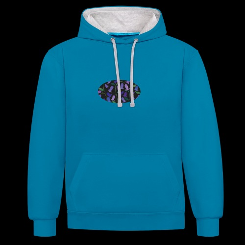 blue bells - Sweat-shirt contraste