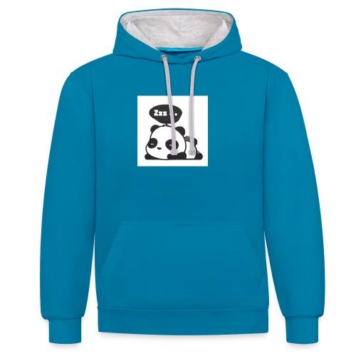 shinypandas - Contrast Colour Hoodie