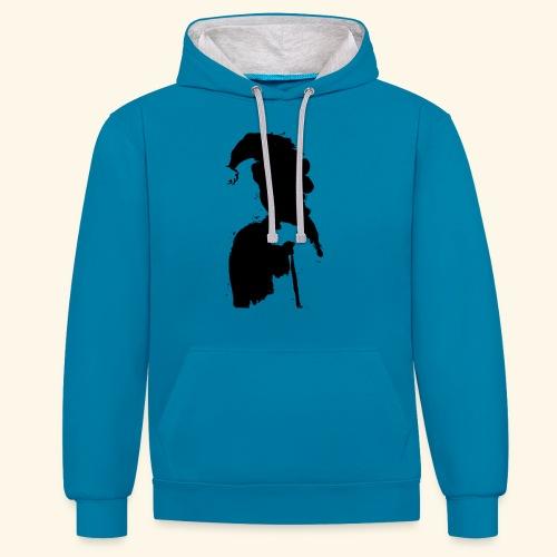 swag - Contrast hoodie