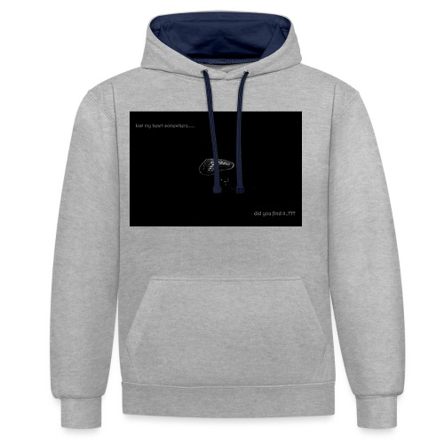 Lost Ma Heart - Contrast Colour Hoodie