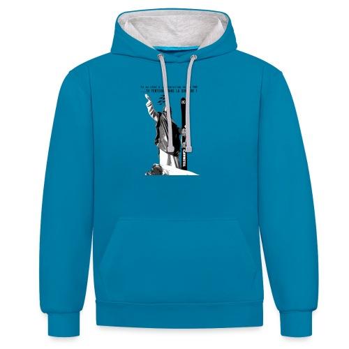 2017 Jesus Telemark - Sweat-shirt contraste