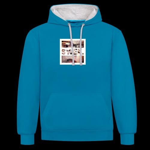 JK.1307 PERSOONLIJKE SPULLEN - Contrast hoodie