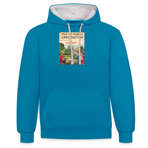 Five Go Mad In Chessington - Contrast Colour Hoodie