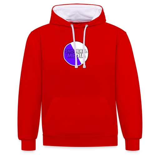 Snowball Media - Contrast Colour Hoodie