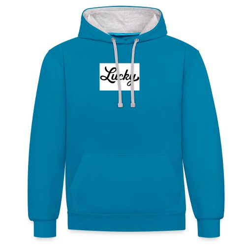 This is my YouTube channel merchandise #Youtube - Contrast Colour Hoodie