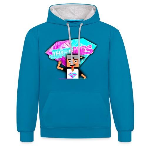 JHGAMES Nieuwe Logo 2 jaar bestaan van JHGAMES - Contrast hoodie