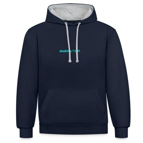 Hessliches T-shirt - Kontrast-Hoodie