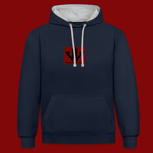 Puzzled Gaming Merchandise - Contrast Colour Hoodie