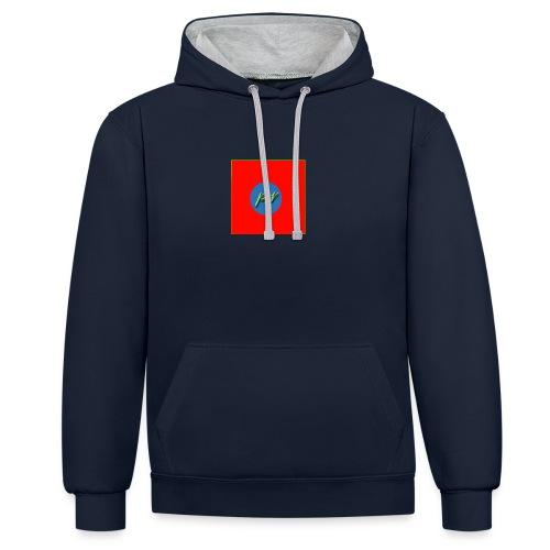 paulreviwes hoodie - Contrast Colour Hoodie