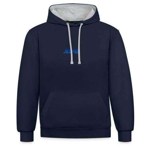 JESPER - Hoesje - Contrast hoodie