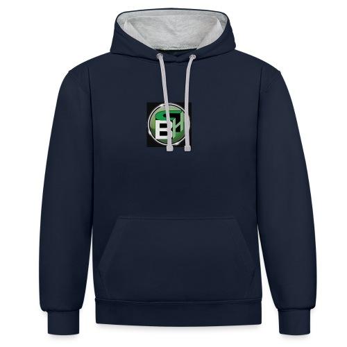 BC - Contrast hoodie