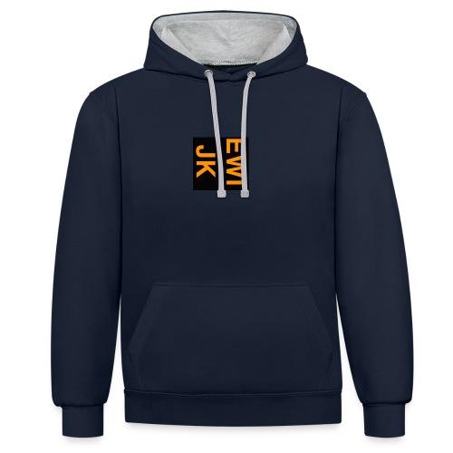 Ewijk - Contrast hoodie