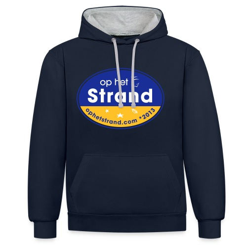 Op het Strand - Contrast hoodie