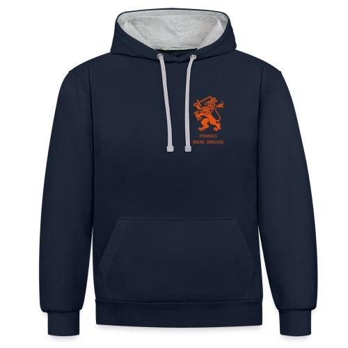 AVM WWII Prinses Irene Brigade Lion - multicolor - Contrast hoodie