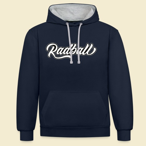 Radball - Kontrast-Hoodie