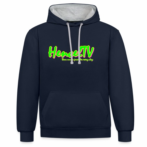 HencelTV - Contrast Colour Hoodie