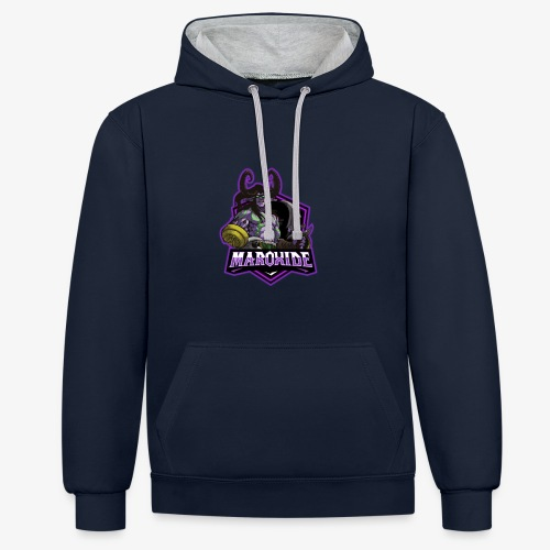 Maroxide Merch Store - Contrast Colour Hoodie