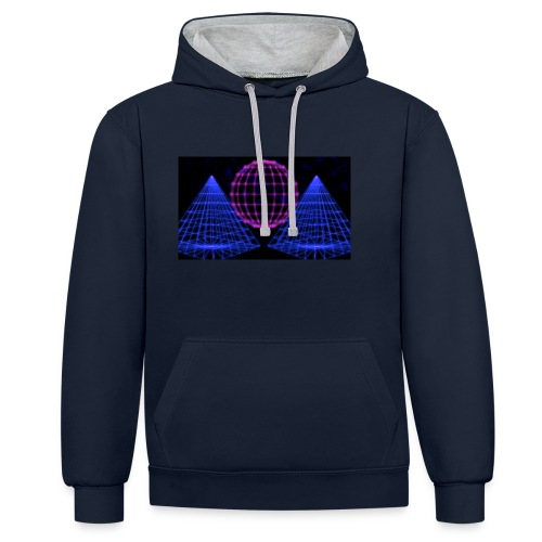 Party Lights - Contrast hoodie