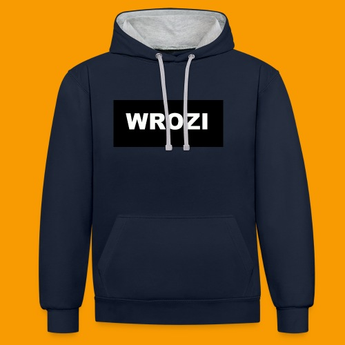 WROZI hat - Contrast Colour Hoodie