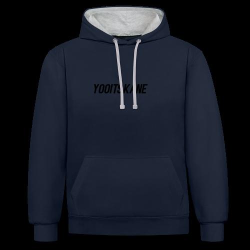 YooItsKane - Contrast hoodie