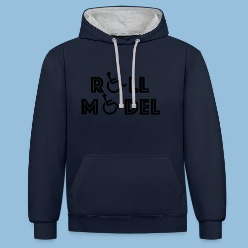 RollModel - Contrast hoodie